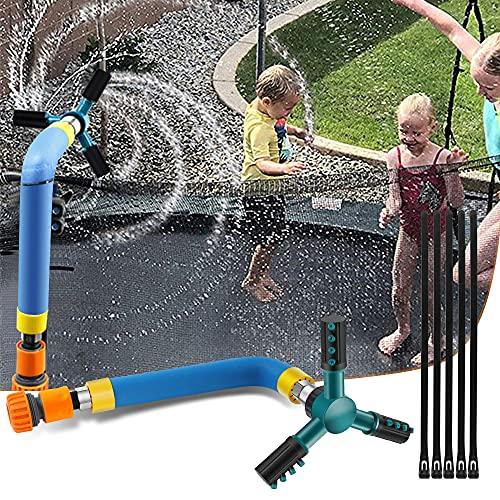 SZSMD Trampolin Sprinkler, Trampolin Zubehör Wassersprinkler,...
