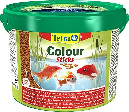 Tetra Pond Colour Sticks – Fischfutter für Teichfische, für...