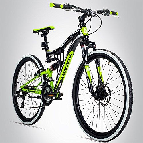 Bergsteiger Kodiak 26 Zoll Mountainbike, geeignet ab 160 cm,...