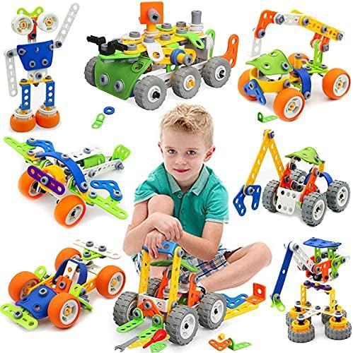 MOONTOY Konstruktionsspielzeug für Kinder, STEM Gebäude Kit...