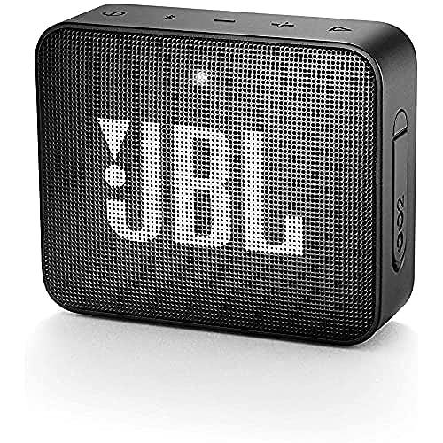 JBL GO 2 kleine Musikbox in Schwarz – Wasserfester, portabler...