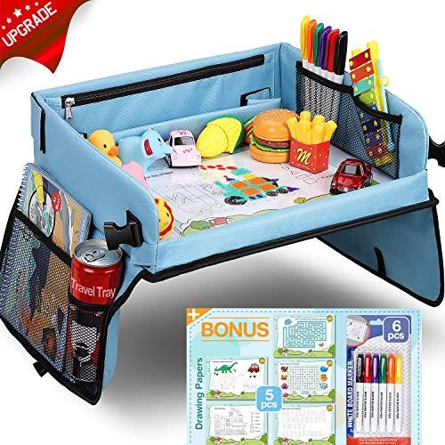 Kinder Knietablett Reisetisch mit 5 Bilder+6 Pinsel - Zeichnung auf...