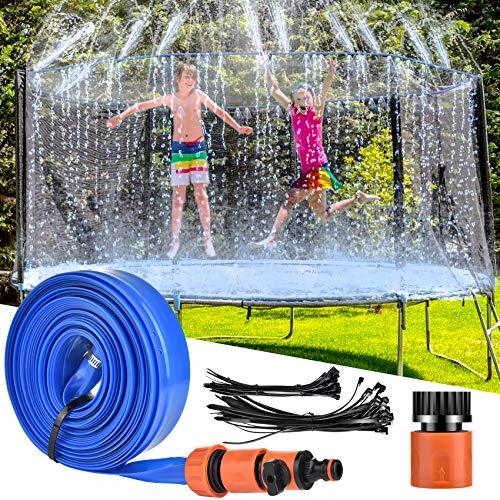 LETIGO Trampoline Sprinkler, 12 m Outdoor Trampolin Wassersprinkler,...