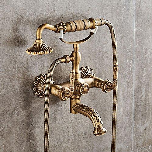 SADASD Im europäischen Stil Badezimmer Waschbecken Wasserhahn Kupfer...