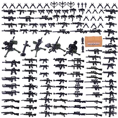 wangxike Custom Military Waffen Set Und Zubehör für Mini Soldaten...