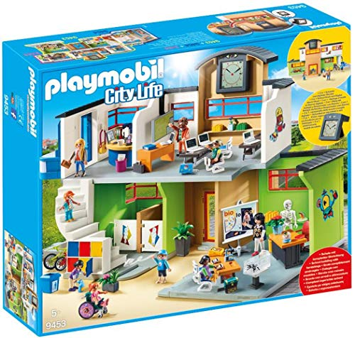 PLAYMOBIL City Life 9453 Große Schule mit Einrichtung, von 4-10...