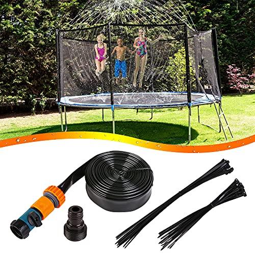 Trampolin Sprinkler 12m, Trampolin Wassersprinkler Sprinkler Schlauch...