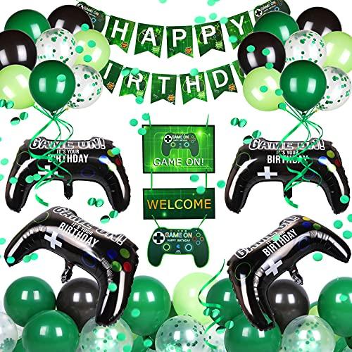 Nabance Spiel Partyzubehör Set Videospiel Party Zubehör Video Game...